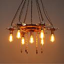 olcso Csillárok-7-Light Ipari Függőlámpák Süllyesztett lámpa Festett felületek Fa / Bambusz Üveg Állítható 110-120 V / 220-240 V Az izzó nem tartozék / E26 / E27