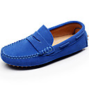 cheap Boys' Shoes-Shenn® Boys' Shoes Leather Spring / Summer Light Soles Loafers & Slip-Ons for Gray / Brown / Royal Blue / Rubber