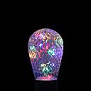 preiswerte Wandleuchten-YWXLIGHT® 1W 100-200lm E27 LED Kugelbirnen 16 LED-Perlen Dekorativ RGB + Warm 85-265V