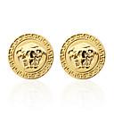cheap Men's Cufflinks-3D Cartoon Silver / Golden Cufflinks Copper Herringbone Men's Costume Jewelry For Wedding