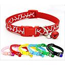 voordelige Reisbenodigdheden voor honden-Kat Hond Kraag draagbaar Ademend Vouwbaar Dierenprint Nylon Zwart Rood Blauw