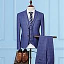 billige Oxfordsko til herrer-Tynn drakter-Ruter Forretning Bedriftsformell Herre / Langermet / Arbeid