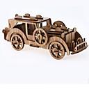 tanie Modele i zestawy modeli-Zabawki 3D Puzzle Drewniane modele Domy Moda Dom Dzieci Nowy design Gorąca wyprzedaż 1 pcs Klasyczny Vintage Nowoczesny Klasyczne samochody Dla dzieci Dla chłopców Dla dziewczynek Zabawki Prezent