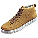 cheap Men's Sneakers-Men's Shoes PU Fall / Winter Comfort Sneakers Black / Gray / Khaki