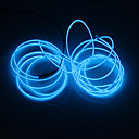 Χαμηλού Κόστους Προτζέκτορες-brelong® 2m νέον φωτοκύτταρα ηλεκτροφωταύγειας κόκκινα / μπλε / πράσινα διακοσμητικά για πάρτι