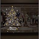 billige Veggklistremerker-Jul Veggklistremerker Triangulær prismelinse Dekorative Mur Klistermærker, Festet Hjem Dekor Veggoverføringsbilde Glass / bad Vindu