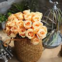 billige Kunstig Blomst-Kunstige blomster 1 Gren Europeisk Roser Bordblomst