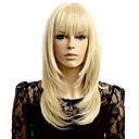 cheap Women's Boots-Synthetic Wig Wavy Blonde Synthetic Hair Natural Hairline Blonde Wig Women's Short Capless