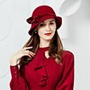 preiswerte Parykopfbedeckungen-Wolle / Velours Hüte mit 1 Hochzeit / Party / Abend Kopfschmuck