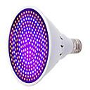abordables Luz Ambiente LED-1pc 25W 1700lm E26 / E27 Growing Light Bulb 260 Cuentas LED SMD 5733 Decorativa Azul Rojo 85-265V
