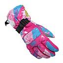 abordables Guantes de Esquí-Guantes de esquí Mujer Dedos completos Impermeable / Mantiene abrigado / Resistente al Viento Fibra Esquí / Ciclismo / Bicicleta Invierno