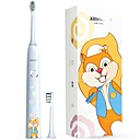 cheap Car DVR-ximalong Children's Edition Smart Sonic Electric Toothbrush Charging Sonic Sensor Vibrating Toothbrush Baby Sonic Electric Toothbrush Soft Brush Squir