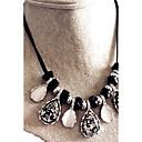 preiswerte Modische Halsketten-Damen Kristall Halsketten - Krystall Tropfen Elegant Schwarz Modische Halsketten Für Zeremonie, Bühne
