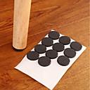 olcso Other Lakás Szervezet-multifunkciós fekete öntapadós bútorok lábasztal szék kanapé lábak padló csúszásmentes mat Sticky pad védő