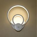 olcso Fali rögzítők-Modern/kortárs Fali lámpák Kompatibilitás Nappali szoba Otthoni Alumínium falikar 110-120 V 220-240 V 17W