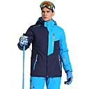 お買い得  スキーウェア-Phibee 男性用 スキージャケット 防水 防風 ウォーム スキー ポリエステル ウォームトップス スキーウェア
