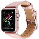 preiswerte Smart Uhr Accessoires-Uhrenarmband für Apple Watch Series 4/3/2/1 Apple Lederschlaufe Echtes Leder Handschlaufe
