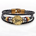 cheap Men's Bracelets-Wrap Bracelet - Leather Fashion Bracelet For Gift Date