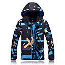 cheap Softshell, Fleece & Hiking Jackets-GQY® Men's Ski Jacket Windproof, Thermal / Warm, Wearable Ski / Snowboard / Winter Sports Polyester Winter Jacket Ski Wear