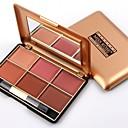 abordables blush-4 couleurs Set de maquillage Poudre Rougir Sec / Mélange / Huileux Longue Durée Rougir Chine Maquillage Cosmétique