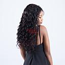 tanie Peruki z włosów ludzkich-Włosy remy 360 Frontal Peruka Włosy peruwiańskie Luźne fale Peruka Z baby hair 180% Nieprzereagowany Damskie Długo Peruki z włosów ludzkich