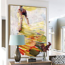 cheap Rolled Canvas Prints-Abstract Oil Painting Wall Art,Alloy Material With Frame For Home Decoration Frame Art Bedroom Dining Room
