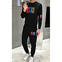cheap Men's Sneakers-Men's Street chic Long Sleeve Sweatshirt - Solid Colored, Modern Style Round Neck