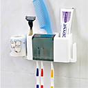 رخيصةأون حاملات فرش الأسنان-حاملة فرشاة الأسنان الحديث الكمبيوتر الشخصي 1 قطعة - حمام الفندق