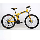 levne Lahve-Horské kolo / Skládací kola Cyklistika 21 Speed 26 palců / 700CC Dvojitá kotoučová brzda Springer vidlice Monocoque / Pevný rám Běžný Hliníková slitina / Ocel / Hliník