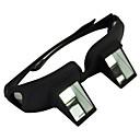 رخيصةأون أضواء LED ثنائي الدبوس-ويطل نظارات تلسكوب نظارات كسول البلاستيك الأسود للماء مقاومة الطقس