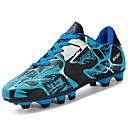baratos Sapatos de Menino-Para Meninos Sapatos PVC / Couro Ecológico Outono Conforto Tênis Futebol para Verde / Preto / Vermelho / Black / azul