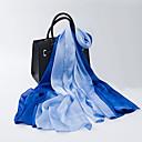 billige Mode Halskæde-Dame Rektangulær - Silke Ensfarvet / Stribet