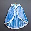 hesapli Cadılar Bayramı Kostümleri-Prenses Peri Masalı/Bajka Elsa Pelerin Çocuklar için Yılbaşı Maskeli Balo Doğum Dünü Festival / Tatil Cadılar Bayramı Kostümleri Mavi