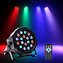 tanie Oświetlenie sceniczne-U'King Oświetlenie LED sceniczne / Żarówki LED Par DMX 512 / Master-Slave / Aktywacja dźwiękiem na Impreza / Scena / Ślub Profesjonalny