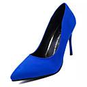 preiswerte Damen Heels-Damen Schuhe PU Sommer Leuchtende Sohlen High Heels Stöckelabsatz Spitze Zehe Schwarz / Rot / Blau / Kleid