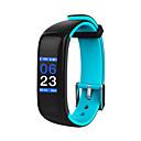 baratos Smartwatches-Pulseira inteligente P1 PLUS para Android 4.4 / iOS Medição de Pressão Sanguínea / Bluetooth / Pedômetros / Monitores de Atividades Esportivas / Informação Pulso Rastreador / Podômetro / Aviso de