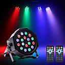 זול אורות במה-U'King תאורת במה LED נורות לד PAR DMX 512 מאסטר סלייב מופעל באמצעות הקול האוטומטי שלט רחוק ל מועדון חתונה במה מסיבה מקצועי איכות גבוהה
