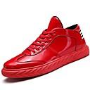 tanie Adidasy męskie-Męskie Komfortowe buty Skóra patentowa / Materiał do wyboru Wiosna / Zima Tenisówki Zero Czarny / Czerwony