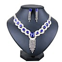 cheap Jewelry Sets-Women's Jewelry Set - Silver Plated Classic, Fashion Include Bridal Jewelry Sets Silver For Wedding / Party