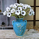 cheap Artificial Flower-Artificial Flowers 5 Branch Simple Style / European Style Roses Tabletop Flower
