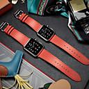 preiswerte Tablet-Hüllen&Bildschirm Schutzfolien-Uhrenarmband für Apple Watch Series 4/3/2/1 Apple Klassische Schnalle Echtes Leder Handschlaufe