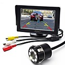 cheap Daytime Running Lights-ZIQIAO 4.3 Inch Monitor and 8LED CCD HD Car Rear View Camera