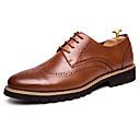 זול נעלי אוקספורד לגברים-בגדי ריקוד גברים נעליים פורמליות עור סתיו / חורף נוחות נעלי אוקספורד שחור / חום / מסיבה וערב