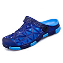 זול נעלי בד ומוקסינים לגברים-בגדי ריקוד גברים PU אביב / קיץ נוחות כפכפים & כפכפים חום / ירוק / כחול