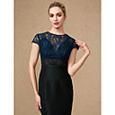 cheap Shoes Accessories-Short Sleeve Lace Wedding / Party / Evening Women's Wrap With Buttons / Lace Shrugs