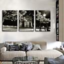 preiswerte Wanduhren auf Leinwand-Moderner Stil Modern/Zeitgenössisch Europäisch Holz Quadratisch Drinnen,Batterie