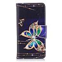 זול מגנים לטלפון & מגני מסך-מגן עבור Huawei P9 לייט מיני P10 Lite מחזיק כרטיסים ארנק עם מעמד נפתח-נסגר מגנטי כיסוי מלא פרפר קשיח עור PU TPU ל P10 Lite P10 P9 lite