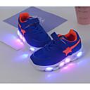 baratos Sandálias Femininas-Para Meninos Sapatos Tule Outono Conforto Tênis para Azul / Rosa claro