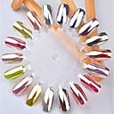 billige Nail Glitter-1pc Glitter Negle kunst Manicure Pedicure Klassisk Daglig