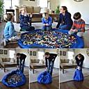 baratos Ferramentas de Brinquedo-Tapete De Armazenamento De Brinquedos Portátil / Tamanho Grande Plástico Suave Crianças Dom 1pcs